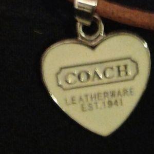 Coachnheart charm